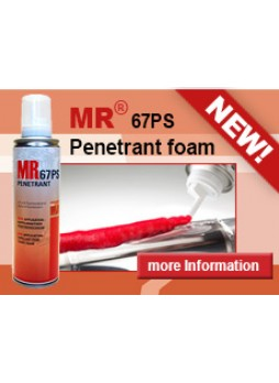 MR® 67 PS Penetrant red and fluorescent